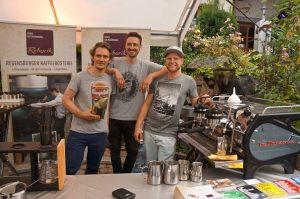 da braucht es kaffee dazu: Heiko Rehorik, Regensburger Kaffeerösterei Rehorik