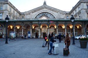 Um 7:30 am Gare de l'Est