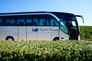 unterwegs mit dem Bus