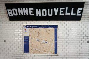 mit der U-Bahn zum Flohmarkt