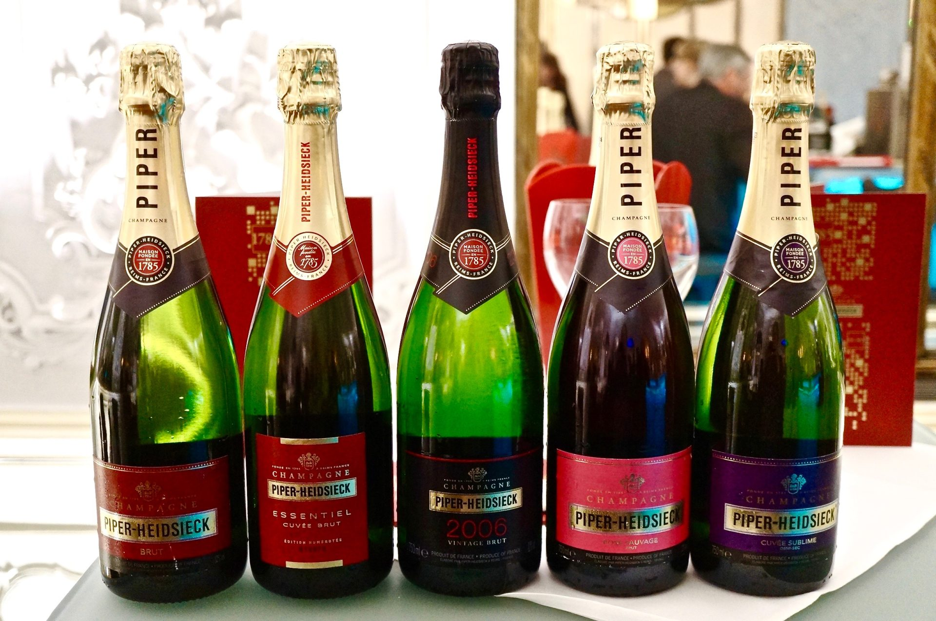 Champagner im Kinosessel