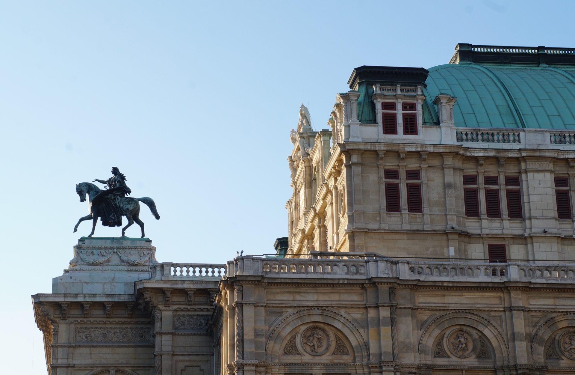 Ankunft in Wien