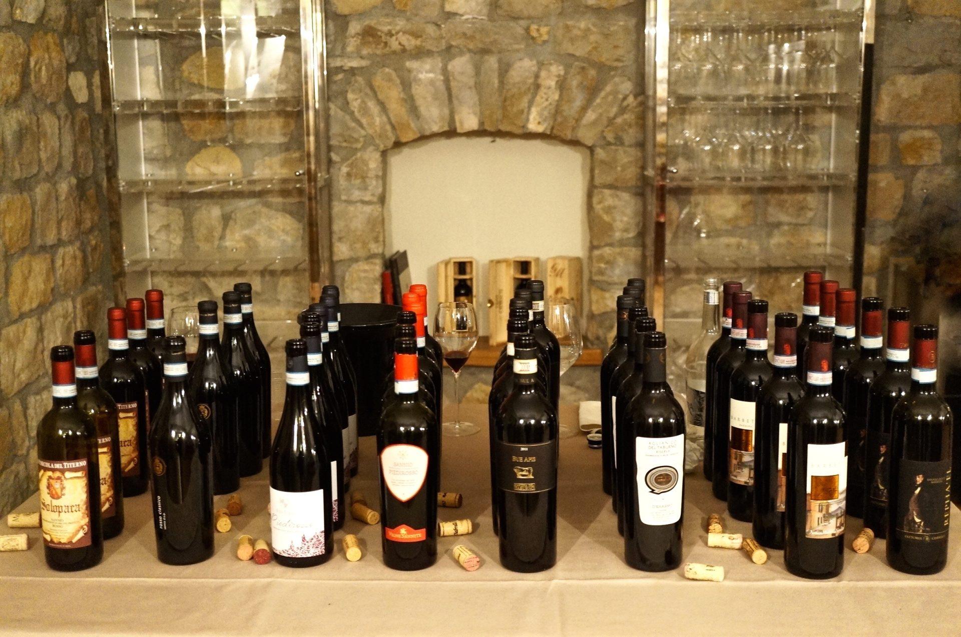 abends ging es zur Weinverkostung
