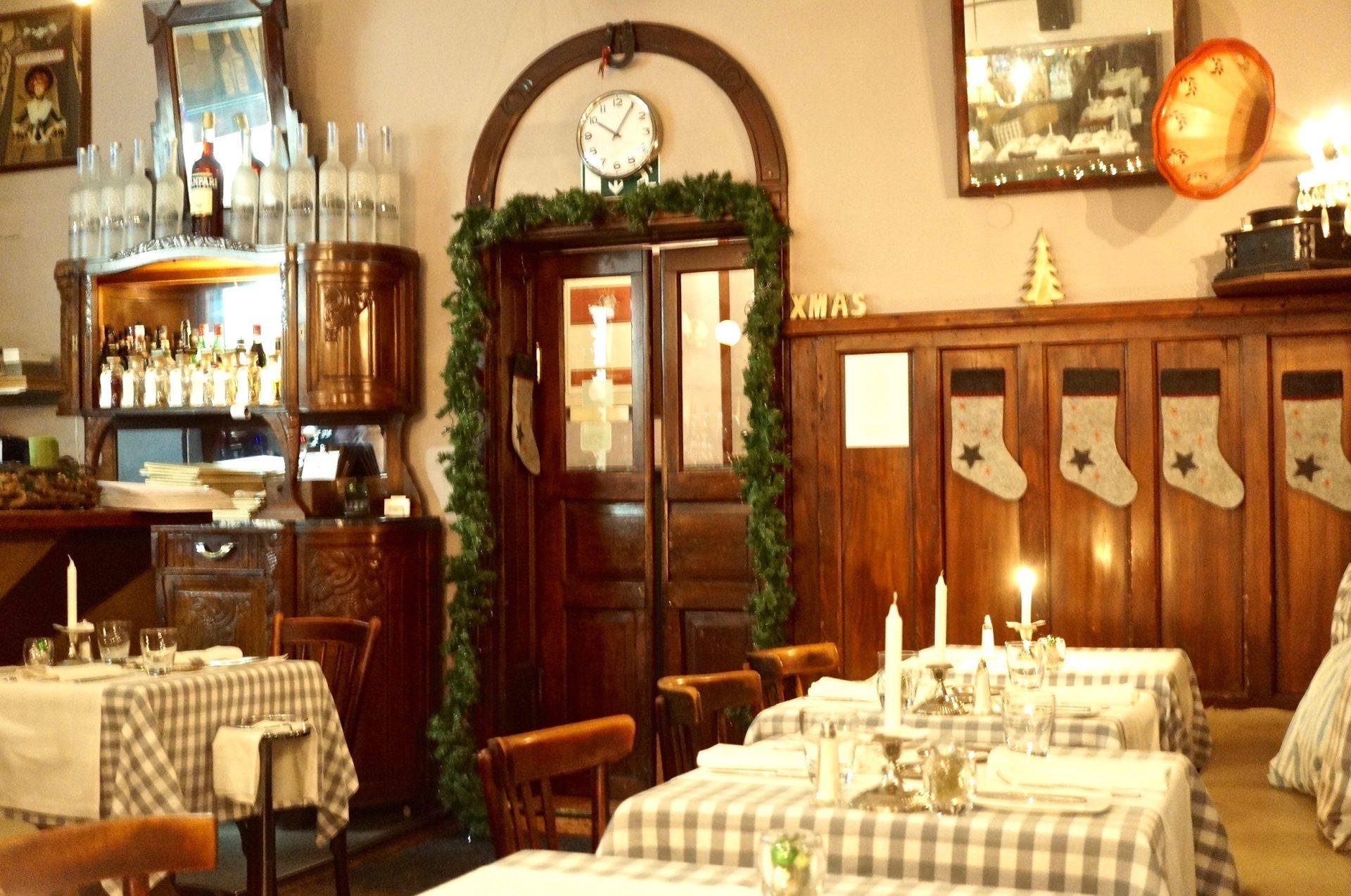 Panettone-Dinner im Golden Twenies