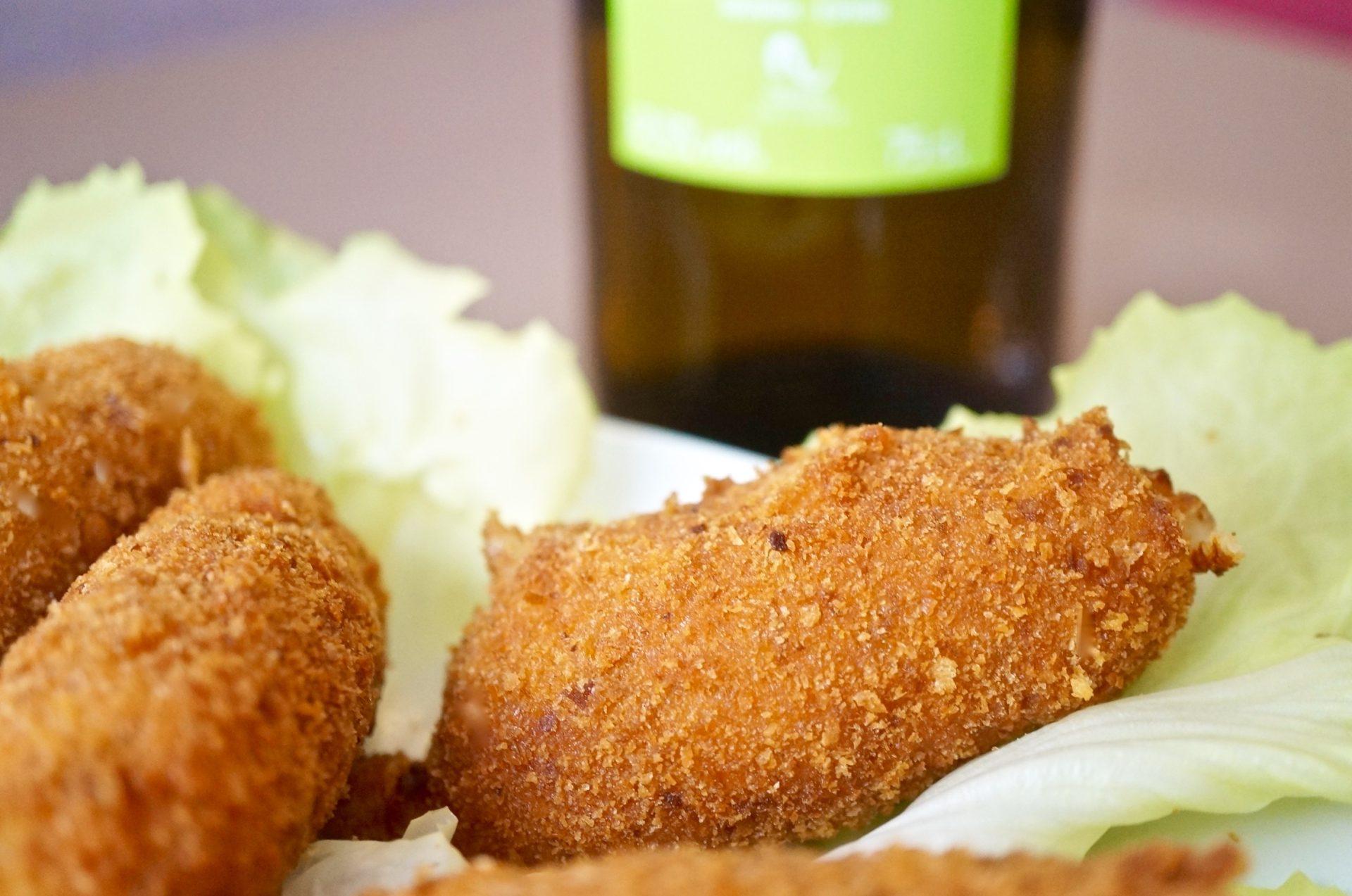 Croquetas Pollo – Spanische Hühnchenkroketten