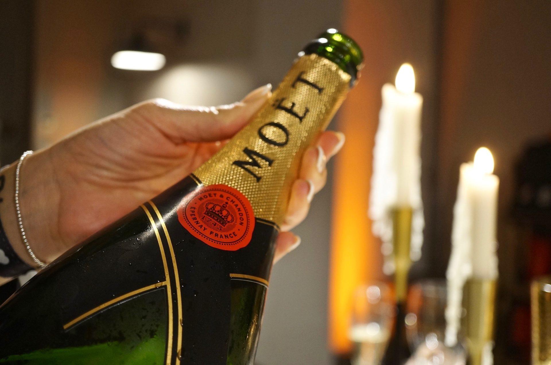 Champagner-Dinner mit Moet & Chandon Impérial & Vintage 2006