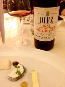 etwas Käse kam auch noch, zum Diez Vintage Porto 1974