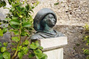 auch Goethe war im Castello Scaligero