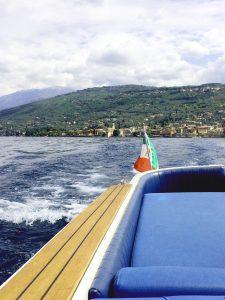 Bootsfahrt auf dem Gardasee