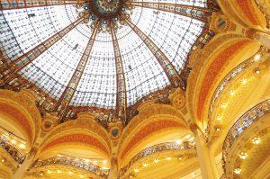 Die Kuppel der Galeries Lafajette