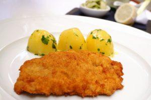 knuspriges Wiener Schnitzel