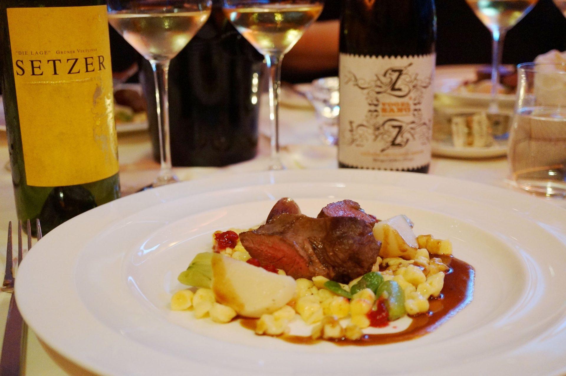 Das Weinviertel zu Gast im Restaurant Blauer Bock