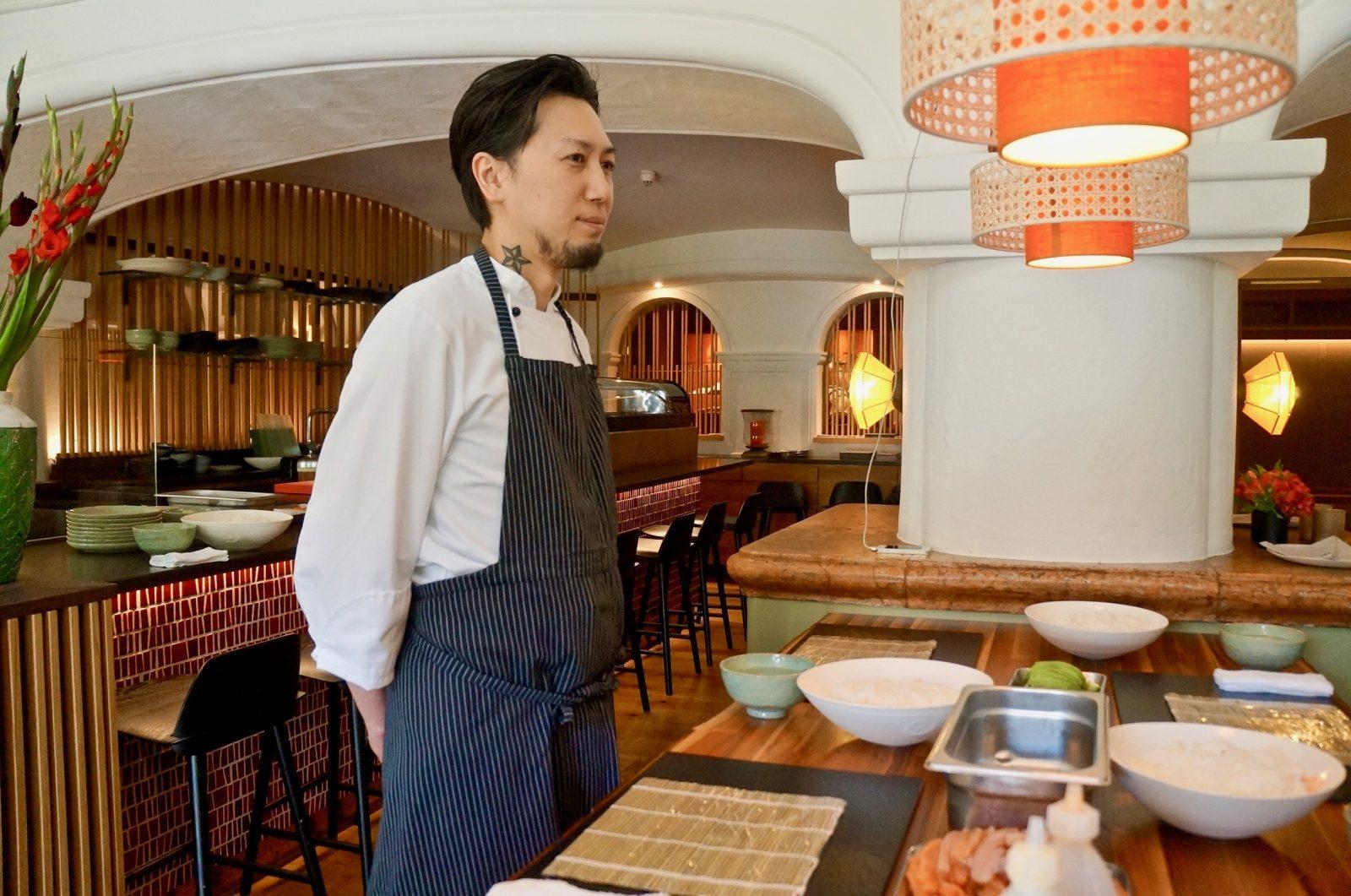 Küchenchef Chiori Kudo