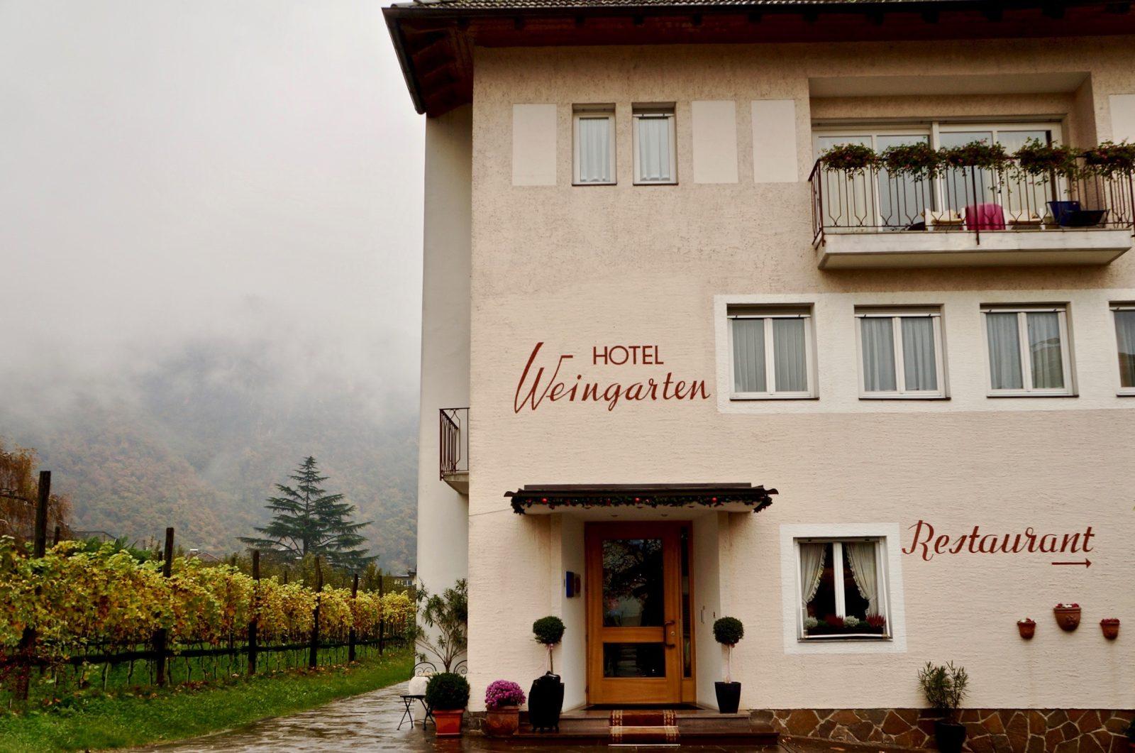 das sympathische Hotel Weingarten