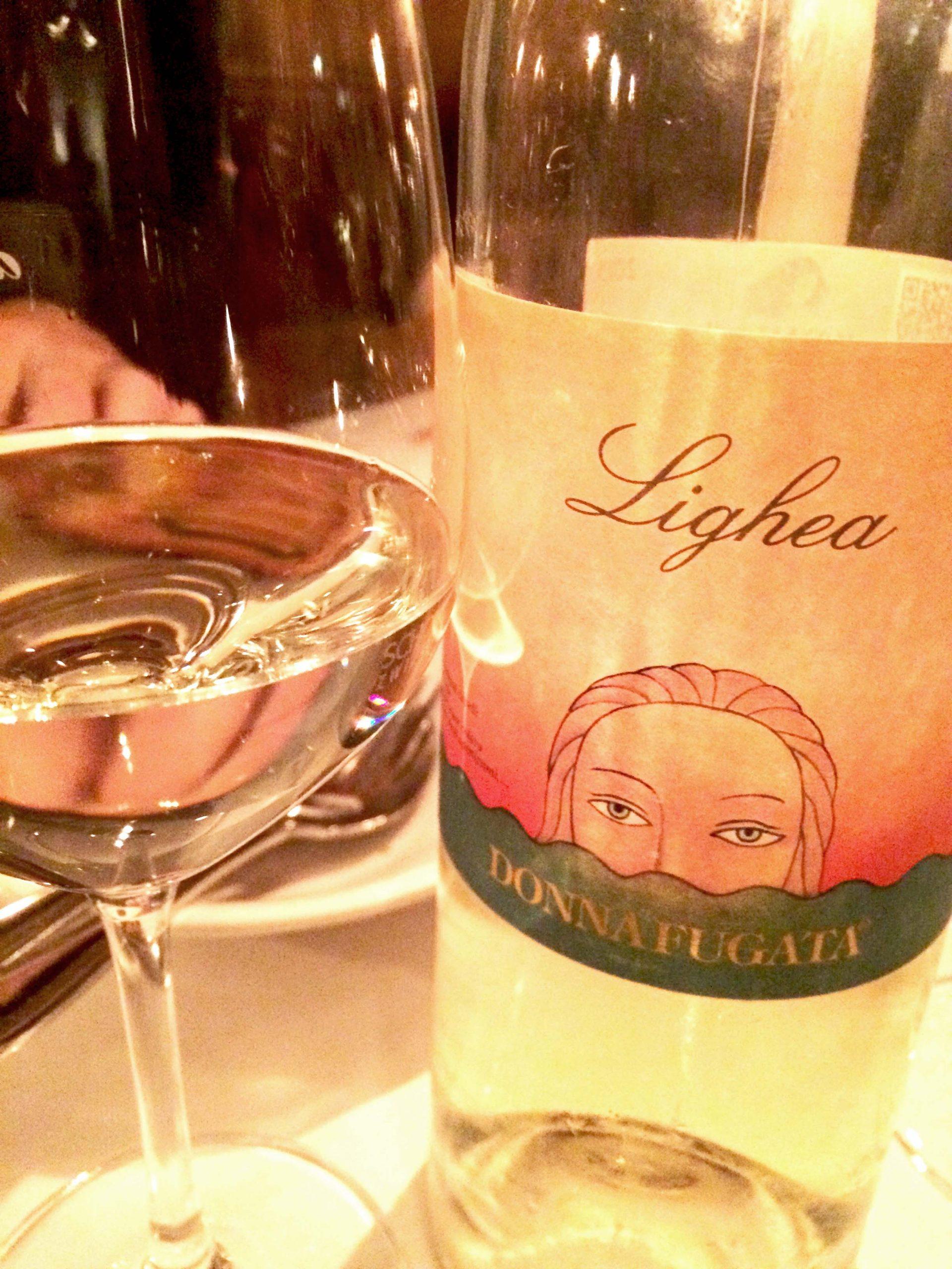 In der Osteria Italiana mit Donna Fugata
