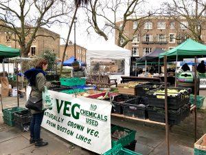 noch ein Abstecher zum Pimlico Farmers Market