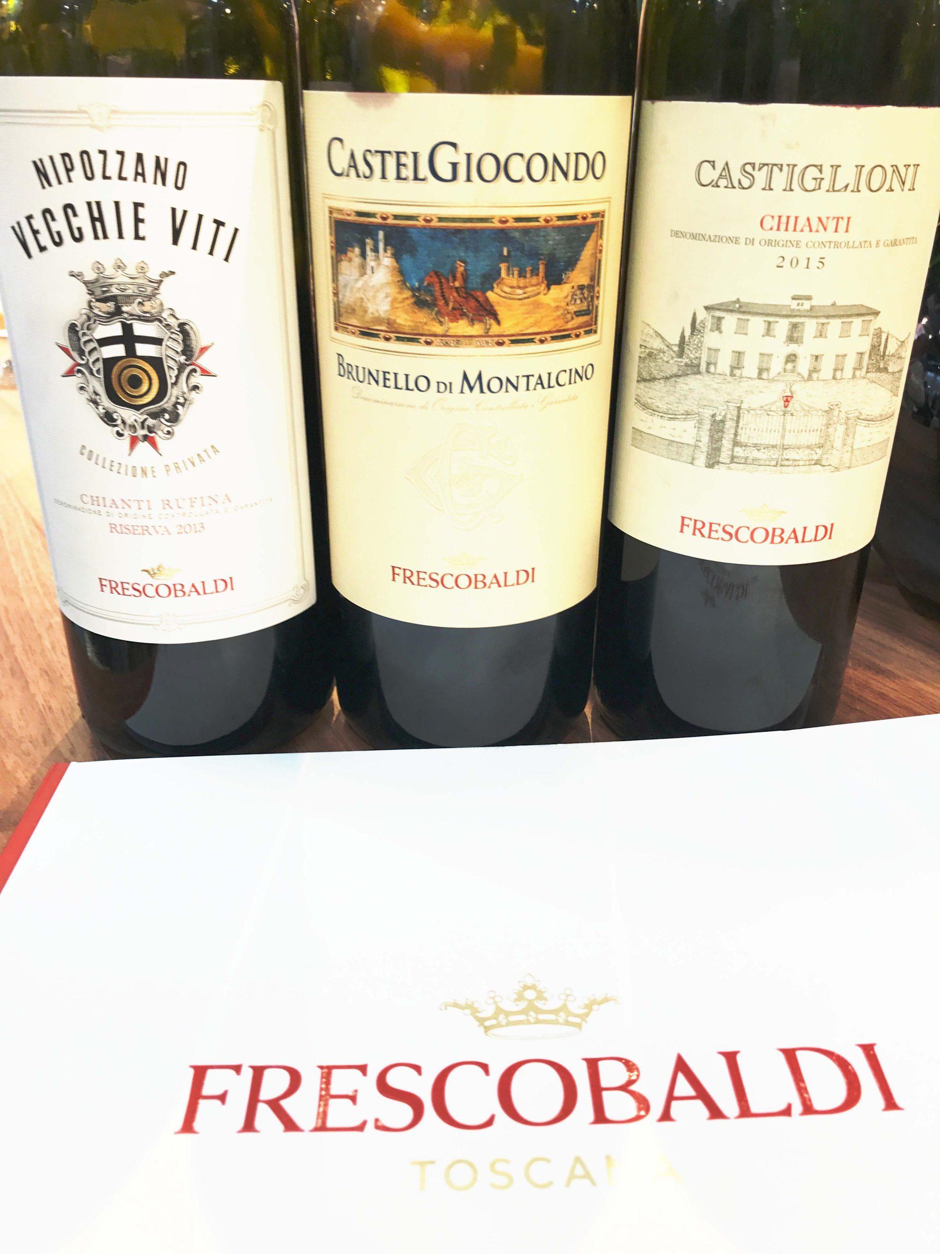 Ein Treffen mit Marquese Lamberto de Frescobaldi