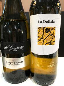 verschiedene Pinot Grigio