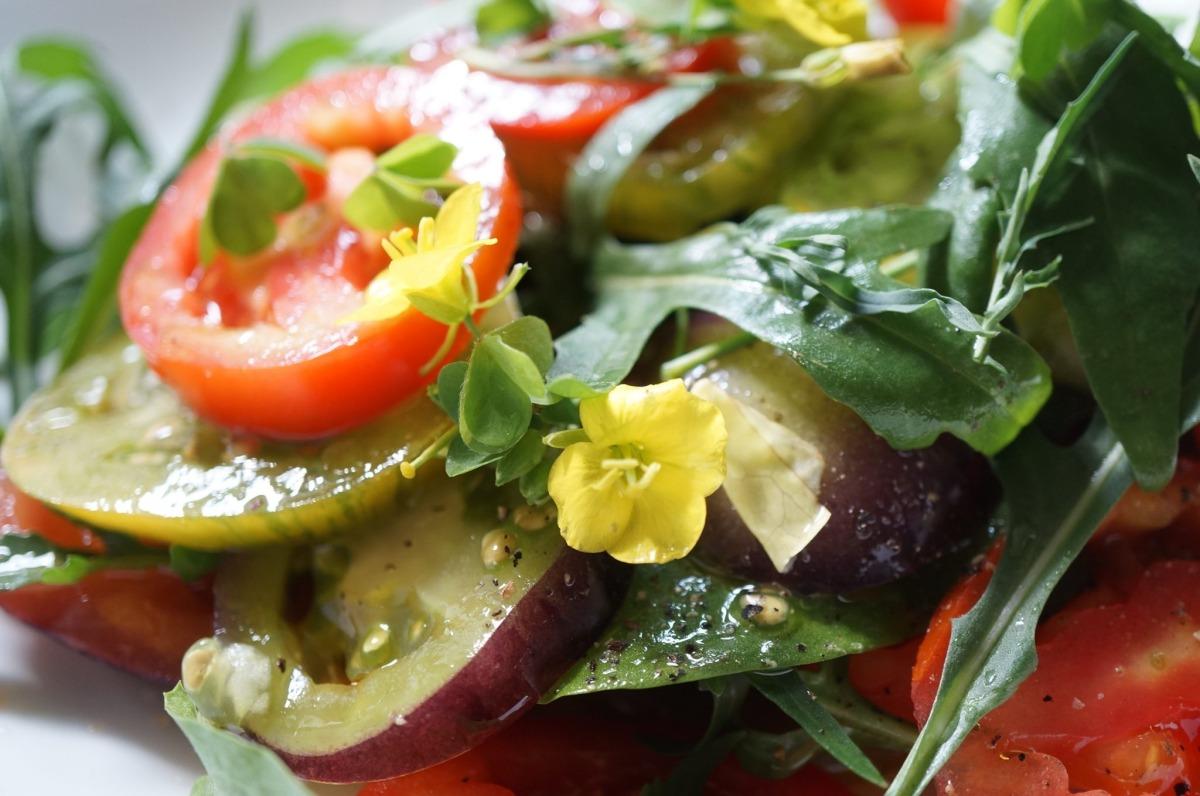 Traumhafter Tomatensalat