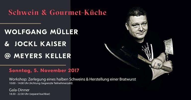 Kochbuchverlosung:  Wolfgang Müller – Wurst und Küche