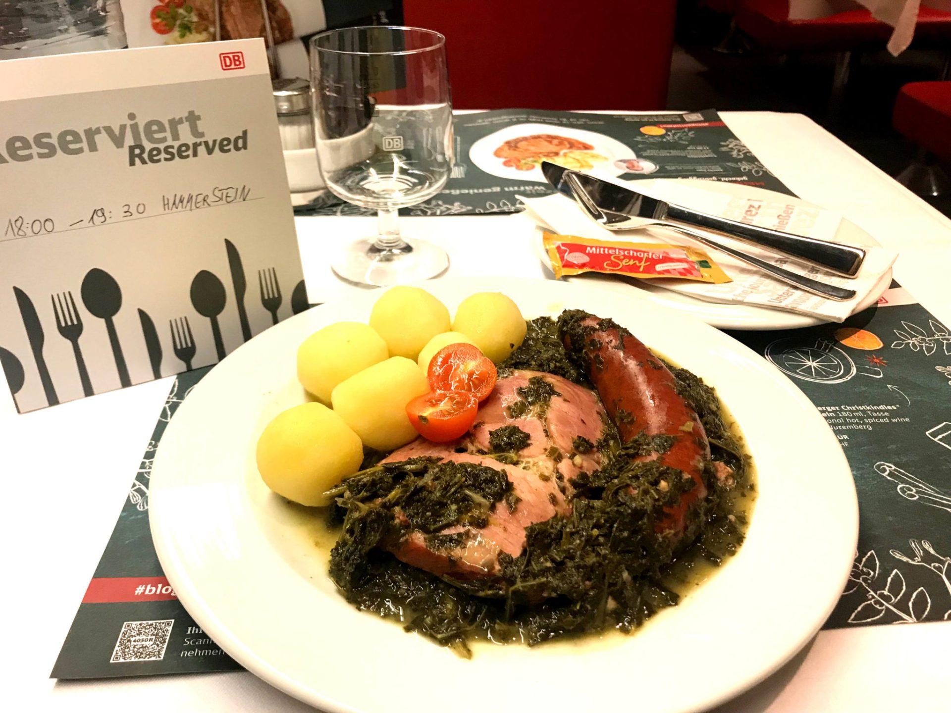 Kulinarisch unterwegs im ICE  – Von Hannover nach Hamburg und zurück nach München