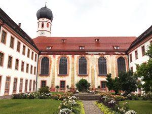 Angekommen im schönen Kloster Beuerberg
