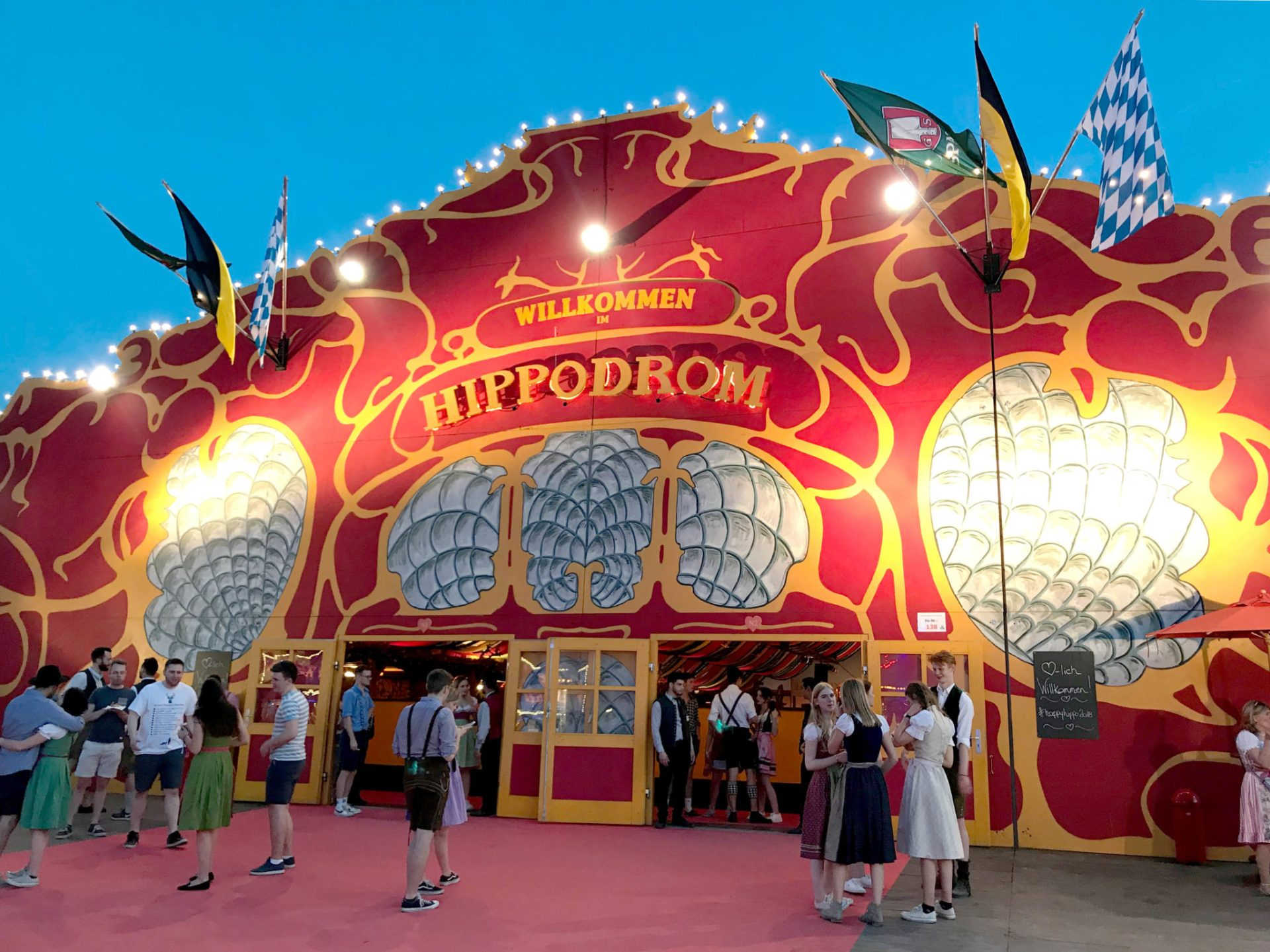 Happy Hippodrom – Das Frühlingsfest, meine neue Wies'n