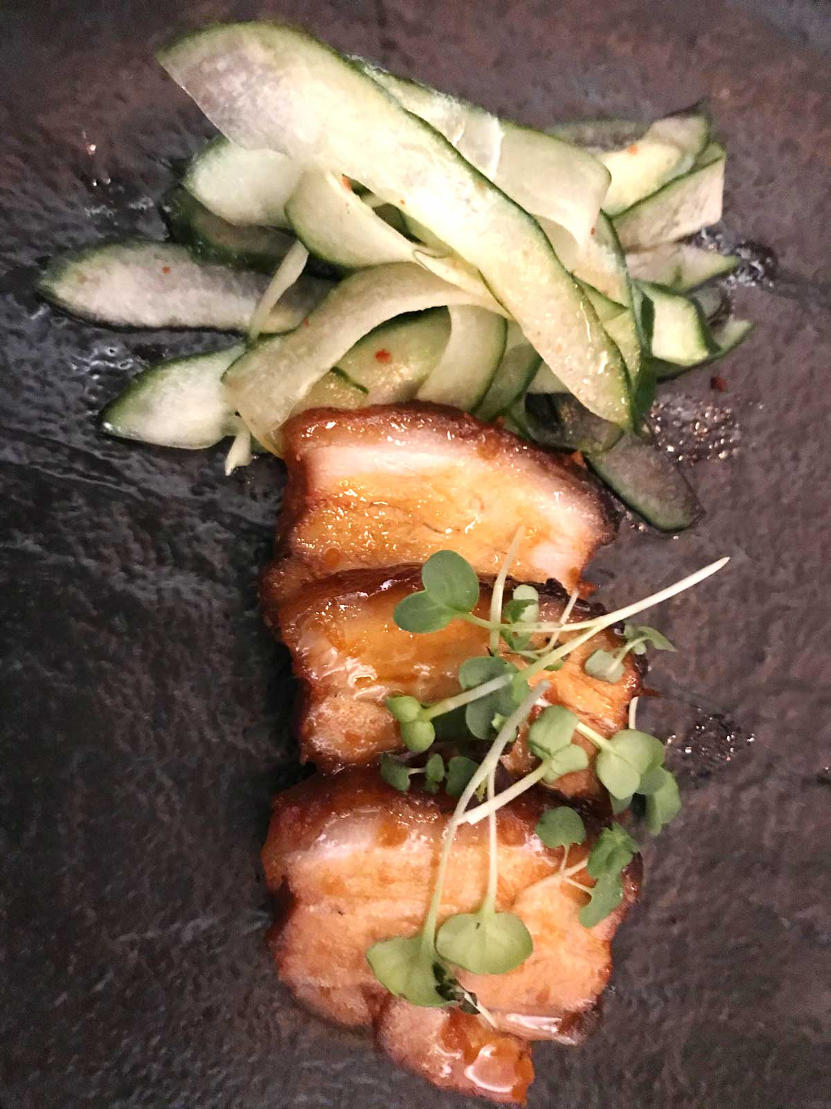 Koreanischer Schweinebauch