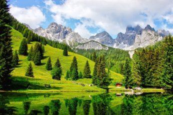 Umsatzsteuer Österreich (Bild aus den österreichischen Alpen)