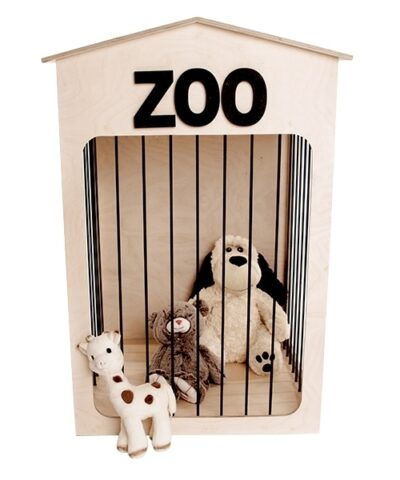 Bamseopbevaring til børneværelset (Bamse Bo, stor) | Teddy Zoo