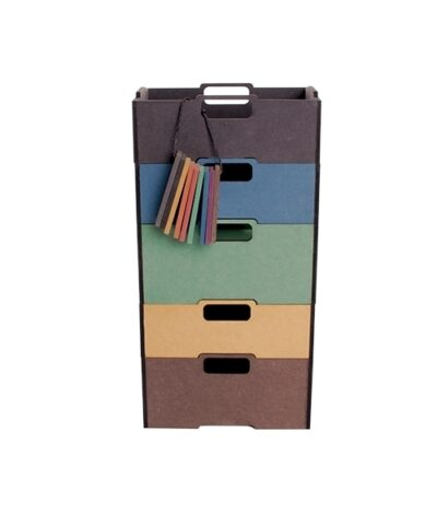 Practical and durable stacking box