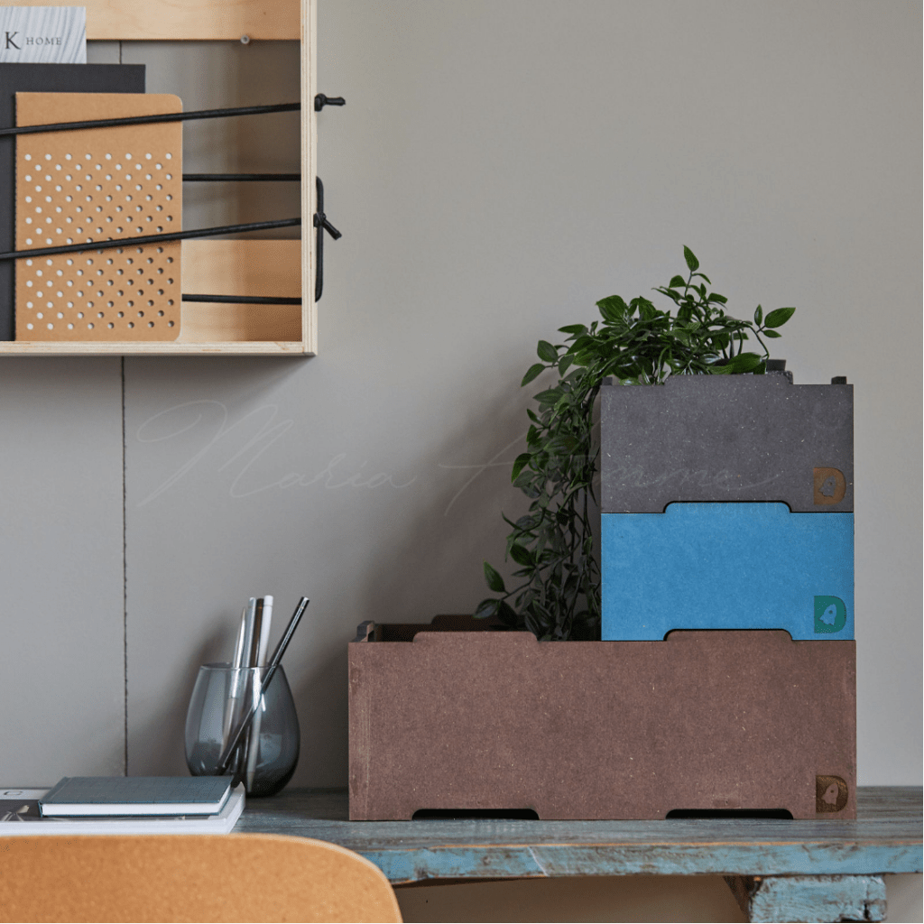 Lena Stacking boxes - Green Friday