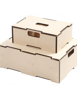 Stabelkasser i træ | Lid for small stacking box