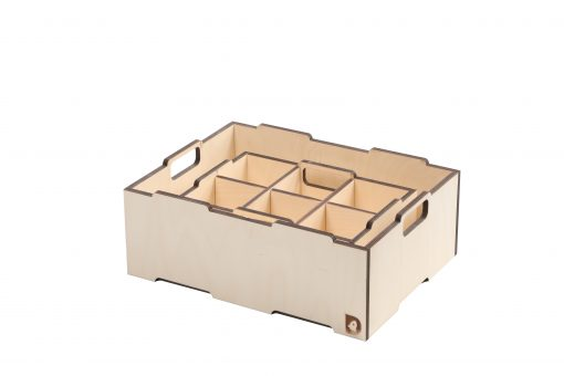 Stabelkasse Birk | Space divider for small stacking box
