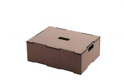 låg til stabelkasse | Lid for large stacking box