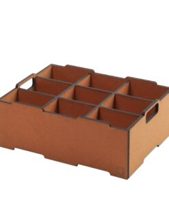 Mellemrum til stabelkasse | Space divider for large stacking box