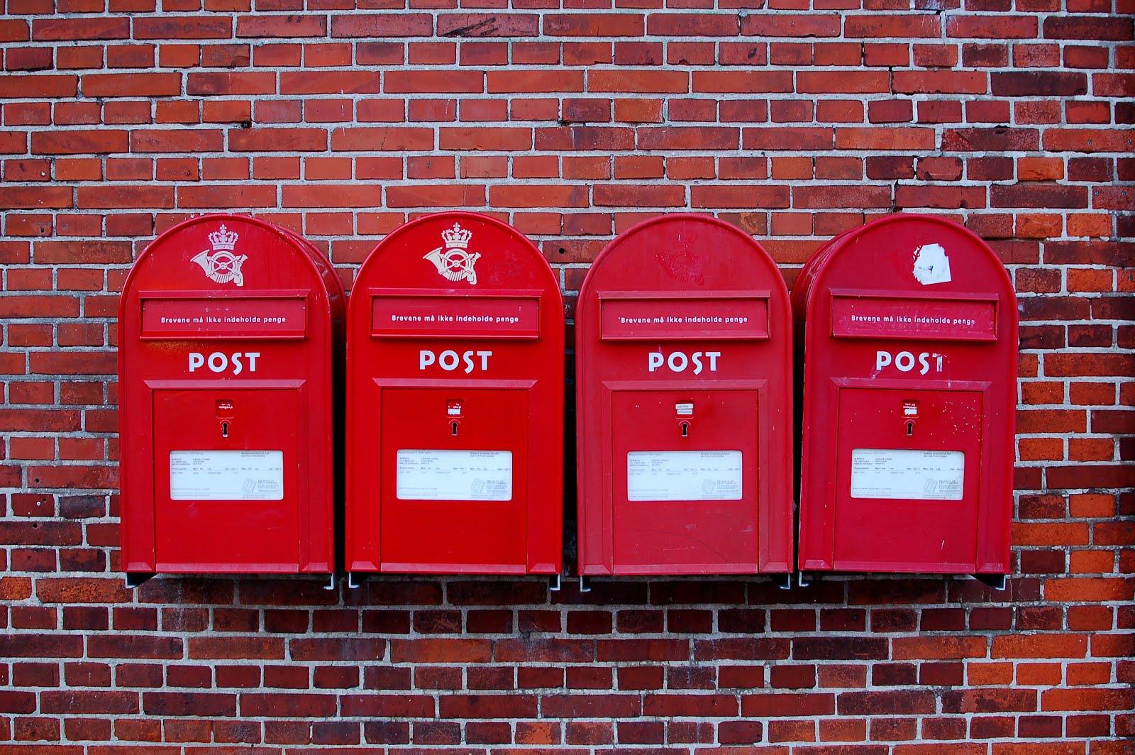 جمل ل B1 ( في مكتب البريد)