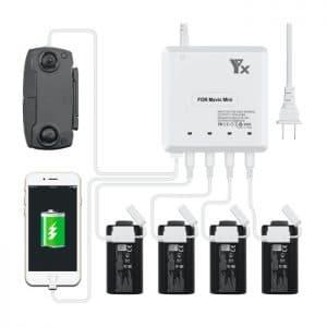 Batterilader til DJI Mavic MINI – 6in1