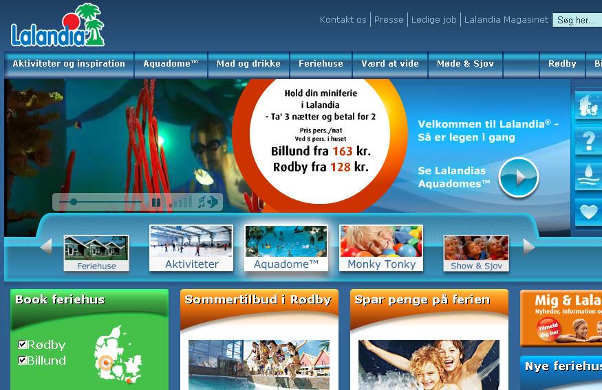 Vind weekend i Lalandia på Lions Marked 2010