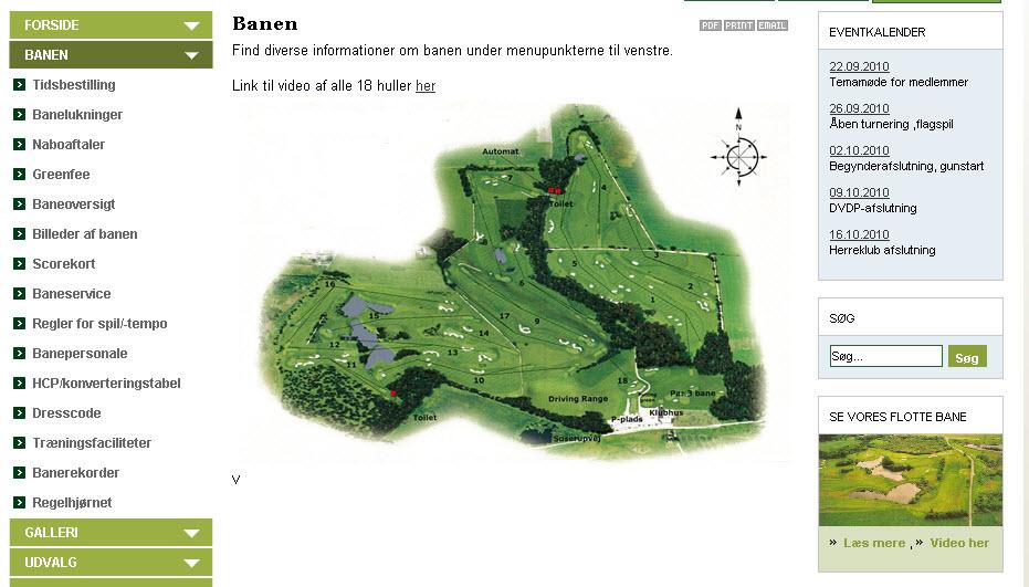 Helstegt Pattegris i Sorø Golfklub