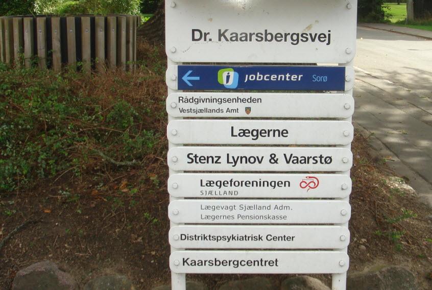 Kaarsbergcentret på Dr. Kaarsbergsvej