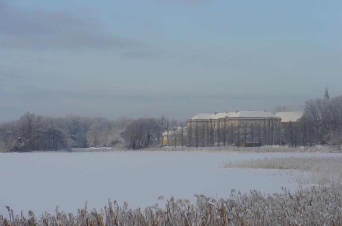 Vinterlandskab i Sorø - snart Østrig?