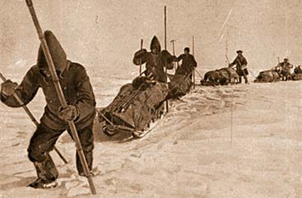 Polarforskere på Postgården