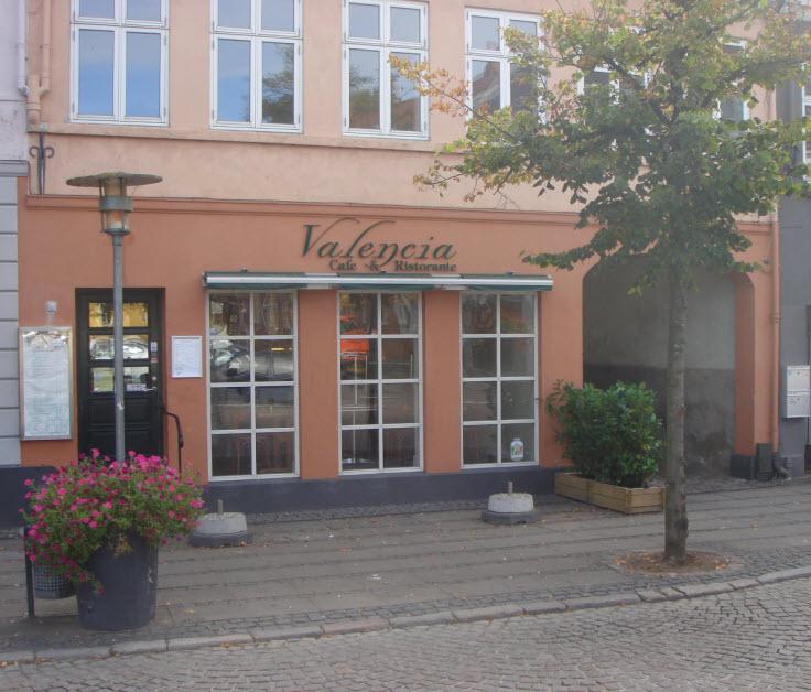 Café Valencia på Storgade