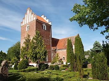 Aftensang i Vester Broby Kirke