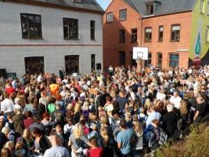 Skolestart i Sorø