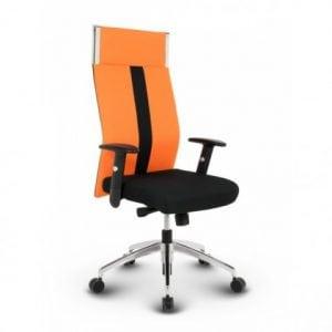 dansk-kontorstol-orange