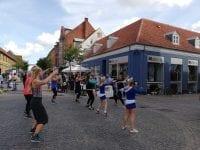 Der var dans i gaden, da der var Sorø Marked i 2019. Foto: SDL