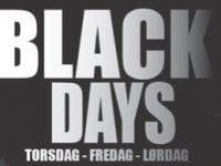 Black Days hos Johs. Clausen