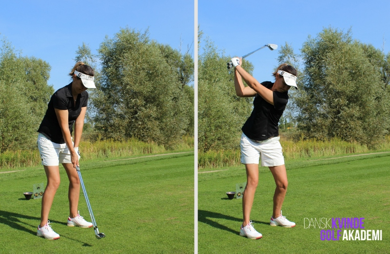 Two clubs swing